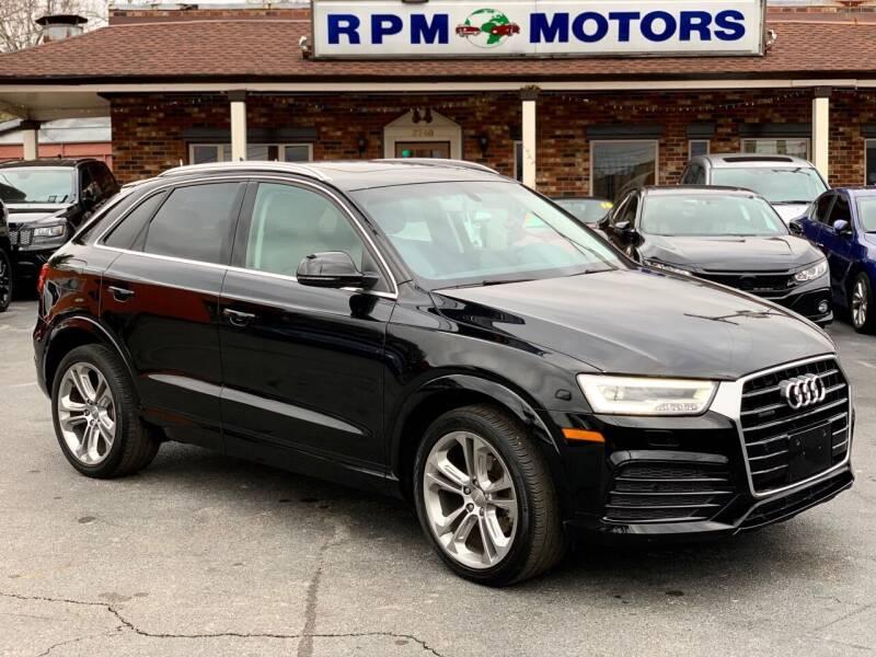 2016 Audi Q3 for sale at RPM Motors in Nashville TN