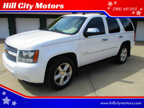 2010 Chevrolet Tahoe for sale at Hill City Motors in Hill City KS
