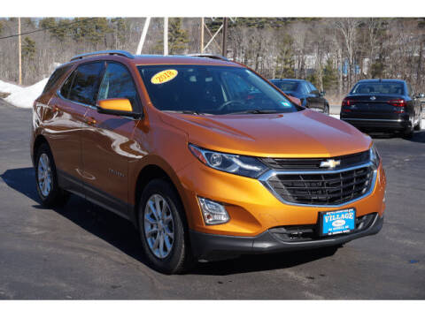 2018 Chevrolet Equinox for sale at VILLAGE MOTORS in South Berwick ME