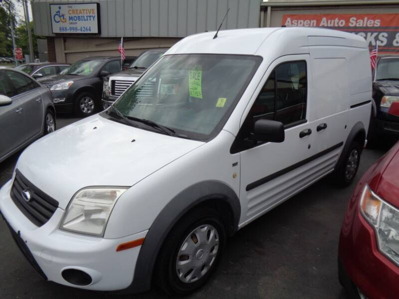 2013 Ford Transit Connect for sale at Aspen Auto Sales in Wayne MI