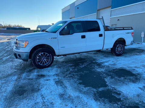 2014 Ford F-150 for sale at Canuck Truck in Magrath AB