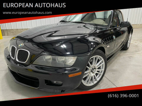 2001 BMW Z3 for sale at EUROPEAN AUTOHAUS in Holland MI
