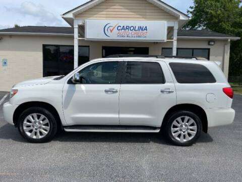 2016 Toyota Sequoia for sale at Carolina Auto Credit in Youngsville NC