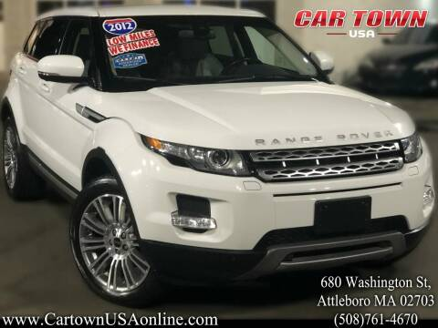 2012 Land Rover Range Rover Evoque for sale at Car Town USA in Attleboro MA