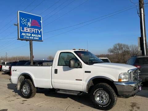 2003 Ford F-250 Super Duty for sale at Liberty Auto Sales in Merrill IA