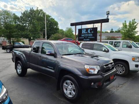 2012 Toyota Tacoma for sale at R C Motors in Lunenburg MA