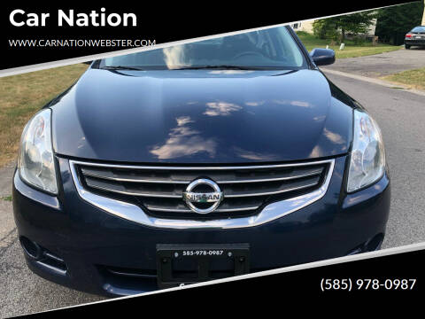 2012 Nissan Altima for sale at Car Nation in Webster NY