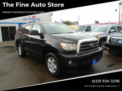 2008 Toyota Sequoia for sale at The Fine Auto Store in Imperial Beach CA