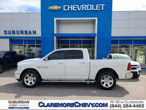 2018 RAM Ram Pickup 1500 for sale at Suburban Chevrolet in Claremore OK