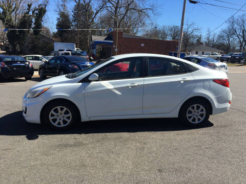 2014 Hyundai Accent for sale at Diamond Auto Sales in Lexington NC