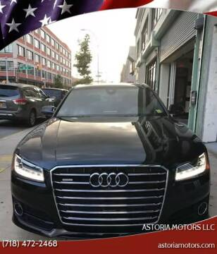 2016 Audi A8 L for sale at Astoria Motors LLC in Long Island City NY