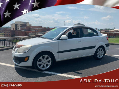2007 Kia Rio for sale at 6 Euclid Auto LLC in Bristol VA