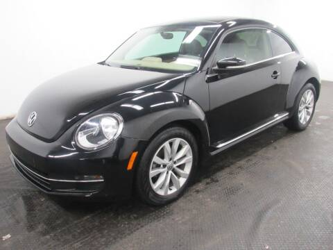 2015 Volkswagen Beetle for sale at Automotive Connection in Fairfield OH