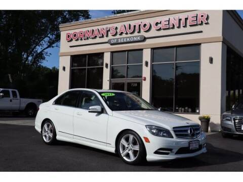 2011 Mercedes-Benz C-Class for sale at DORMANS AUTO CENTER OF SEEKONK in Seekonk MA