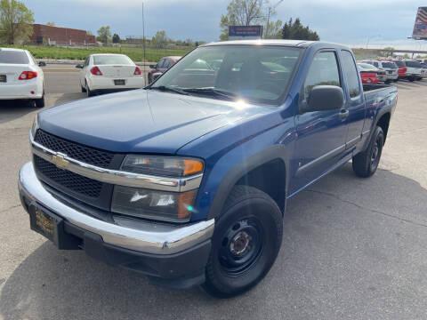 2006 Chevrolet Colorado for sale at BELOW BOOK AUTO SALES in Idaho Falls ID