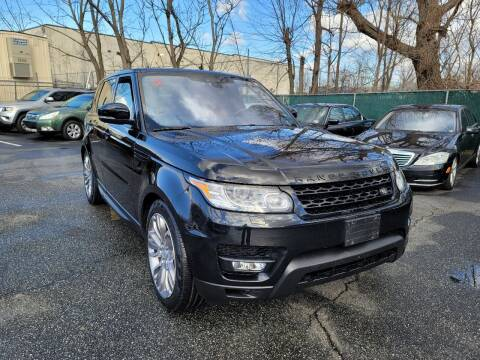 2017 Land Rover Range Rover Sport for sale at AW Auto & Truck Wholesalers  Inc. in Hasbrouck Heights NJ
