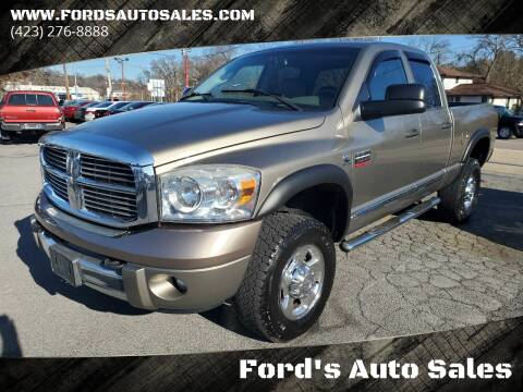 2009 Dodge Ram Pickup 3500 for sale at Ford's Auto Sales in Kingsport TN