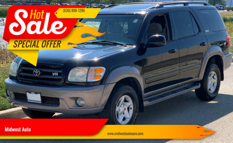 2002 Toyota Sequoia for sale at Midwest Auto in Naperville IL