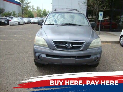 2006 Kia Sorento for sale at FREDRIK'S AUTO in Mesa AZ