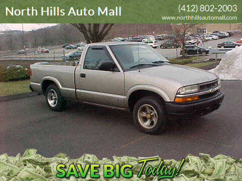 1999 Chevrolet S-10 for sale at North Hills Auto Mall in Pittsburgh PA