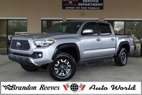 2018 Toyota Tacoma for sale at Brandon Reeves Auto World in Monroe NC