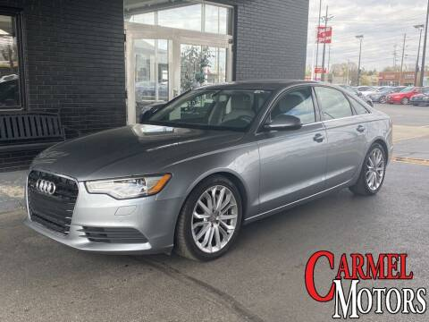 2013 Audi A6 for sale at Carmel Motors in Indianapolis IN