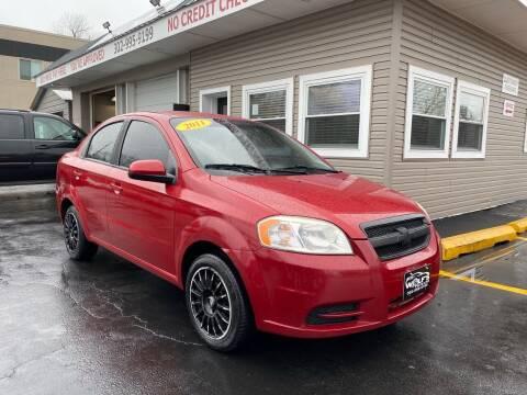 2011 Chevrolet Aveo for sale at WOLF'S ELITE AUTOS in Wilmington DE
