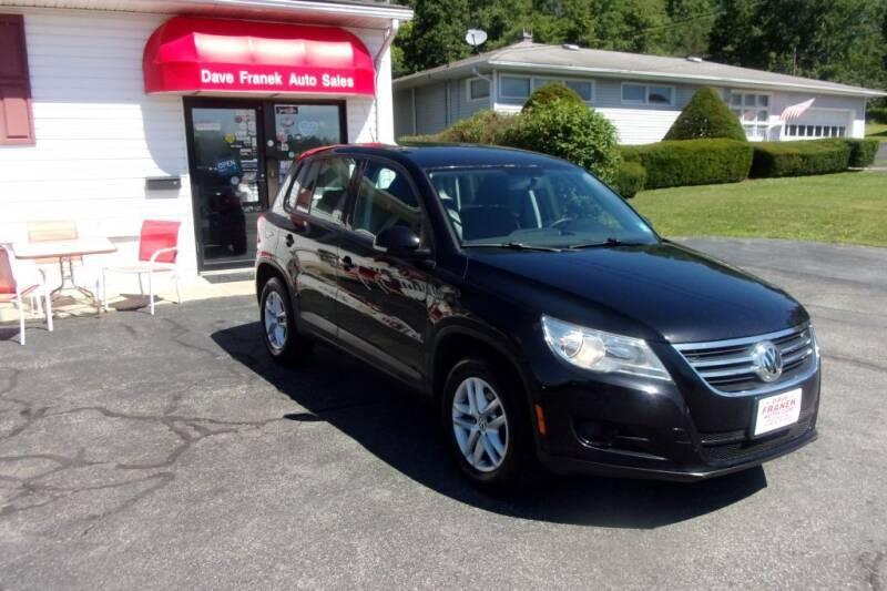 2011 Volkswagen Tiguan for sale at Dave Franek Automotive in Wantage NJ