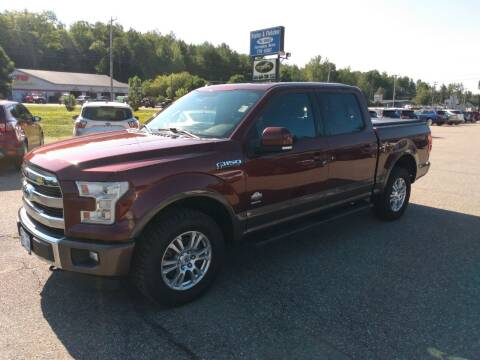 2015 Ford F-150 for sale at Ripley & Fletcher Pre-Owned Sales & Service in Farmington ME