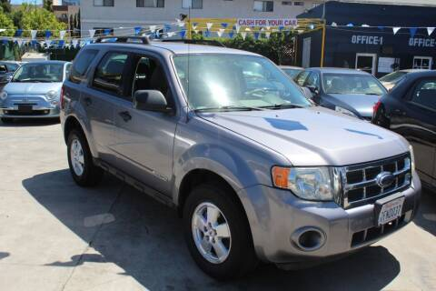 2008 Ford Escape for sale at FJ Auto Sales North Hollywood in North Hollywood CA