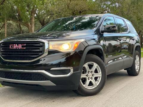 2017 GMC Acadia for sale at HIGH PERFORMANCE MOTORS in Hollywood FL