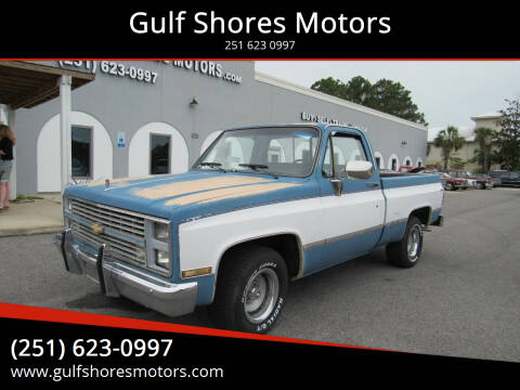 1984 Chevrolet C/K 10 Series for sale at Gulf Shores Motors in Gulf Shores AL