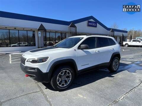 2020 Jeep Cherokee for sale at Impex Auto Sales in Greensboro NC