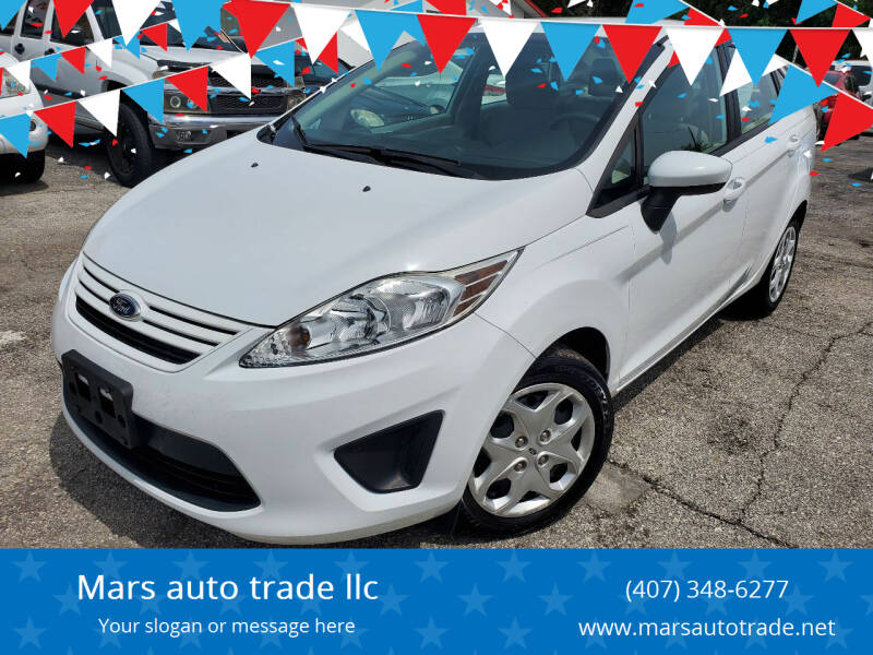 2013 Ford Fiesta for sale at Mars auto trade llc in Kissimmee FL