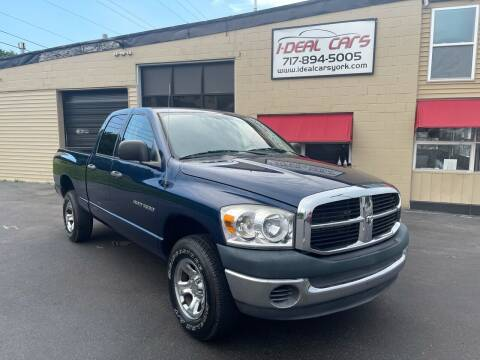 2007 Dodge Ram Pickup 1500 for sale at I-Deal Cars LLC in York PA