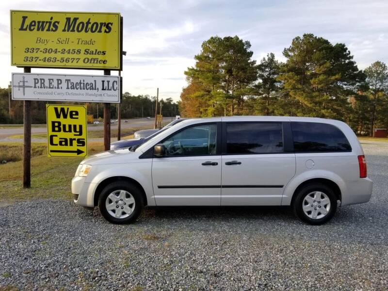 2008 Dodge Grand Caravan for sale at Lewis Motors LLC in Deridder LA