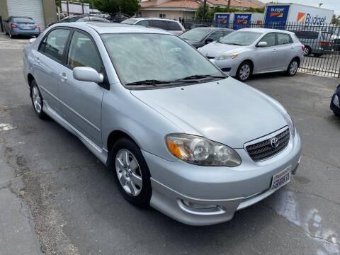 2008 Toyota Corolla for sale at 101 Auto Sales in Sacramento CA