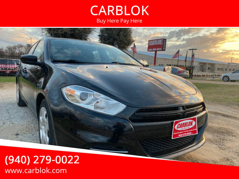 2014 Dodge Dart for sale at CARBLOK in Lewisville TX