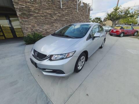 2013 Honda Civic for sale at Masi Auto Sales in San Diego CA
