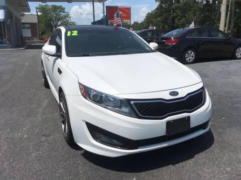 2012 Kia Optima for sale at Dad's Auto Sales in Newport News VA