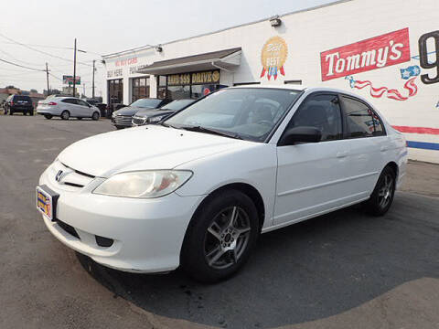 2005 Honda Civic for sale at Tommy's 9th Street Auto Sales in Walla Walla WA