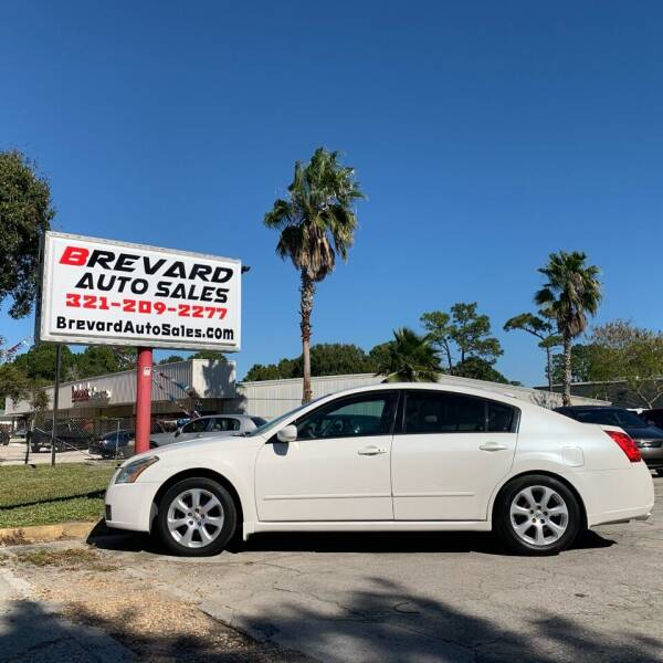 2008 Nissan Maxima for sale at Brevard Auto Sales in Palm Bay FL