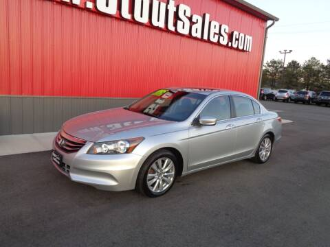 2012 Honda Accord for sale at Stout Sales in Fairborn OH