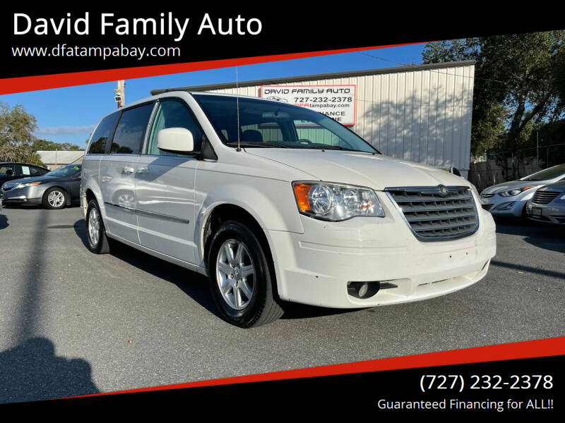 2010 Chrysler Town and Country for sale at David Family Auto in New Port Richey FL