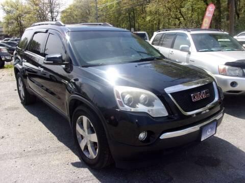 2012 GMC Acadia for sale at Balic Autos Inc in Lanham MD