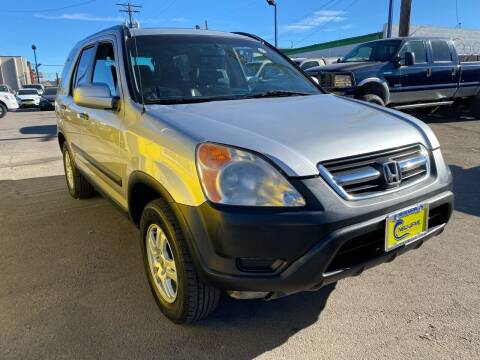 2002 Honda CR-V for sale at New Wave Auto Brokers & Sales in Denver CO