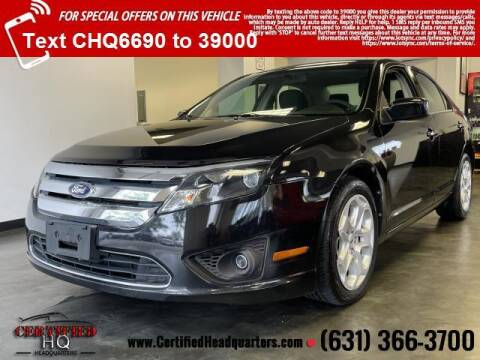 2011 Ford Fusion for sale at CERTIFIED HEADQUARTERS in Saint James NY