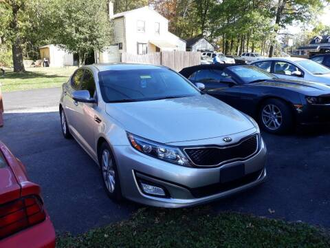 2014 Kia Optima for sale at GALANTE AUTO SALES LLC in Aston PA