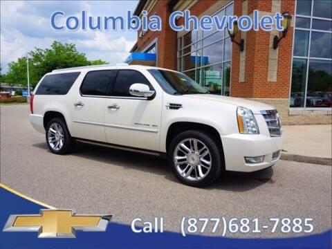 2013 Cadillac Escalade ESV for sale at COLUMBIA CHEVROLET in Cincinnati OH
