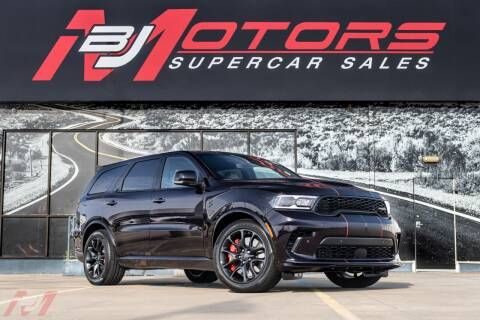 2021 Dodge Durango for sale at BJ Motors in Tomball TX